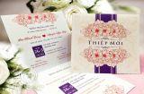 Thiết kế thiệp cưới theo yêu cầu