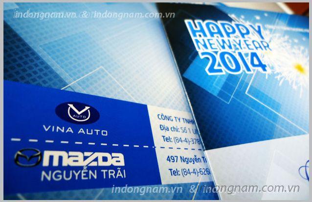 thiết kế và in thiệp chúc mừng năm mới