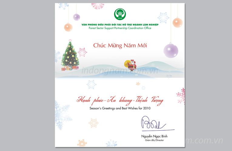 in thiệp noel cho công ty