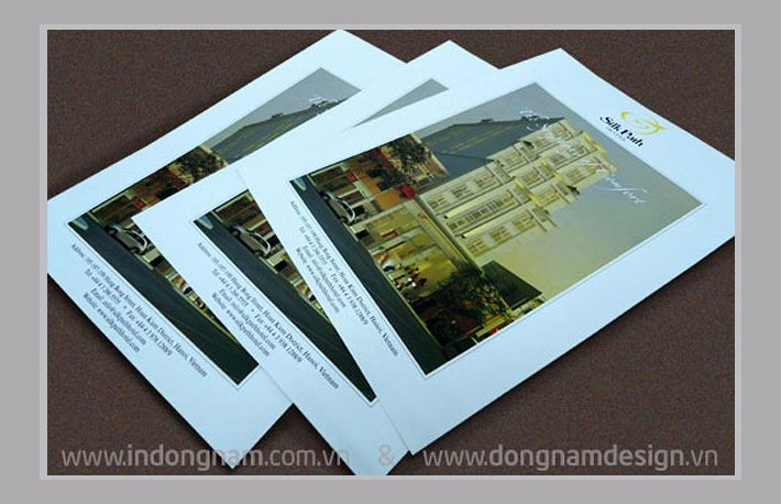 Thiết kế in tờ rơi khách sạn Silkpath Hà Nội