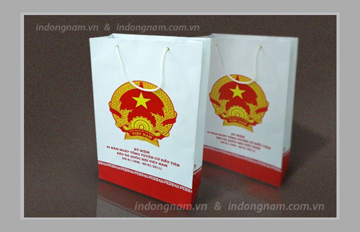 In túi giấy phục vụ sự kiện hội nghị