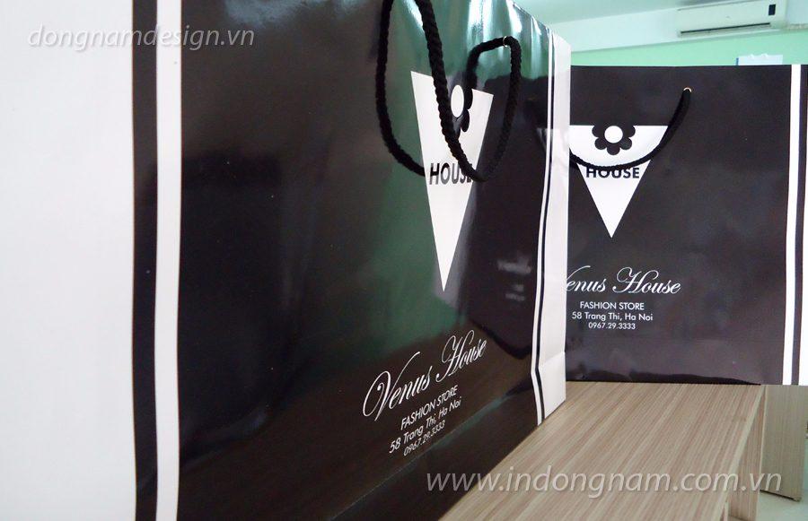 in túi giấy giá rẻ cho các shop thời trang
