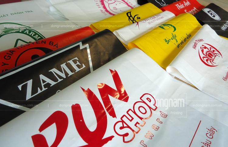 in túi nilon cho shop quần áo