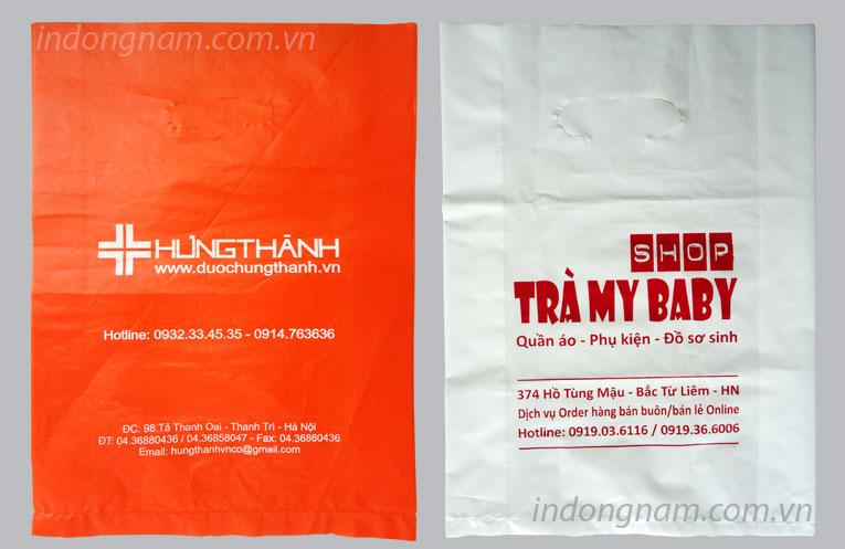 in túi nilon màng HD giá rẻ tại Hà Nội