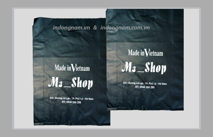 in túi nilon cho shop giá rẻ tại hà nội