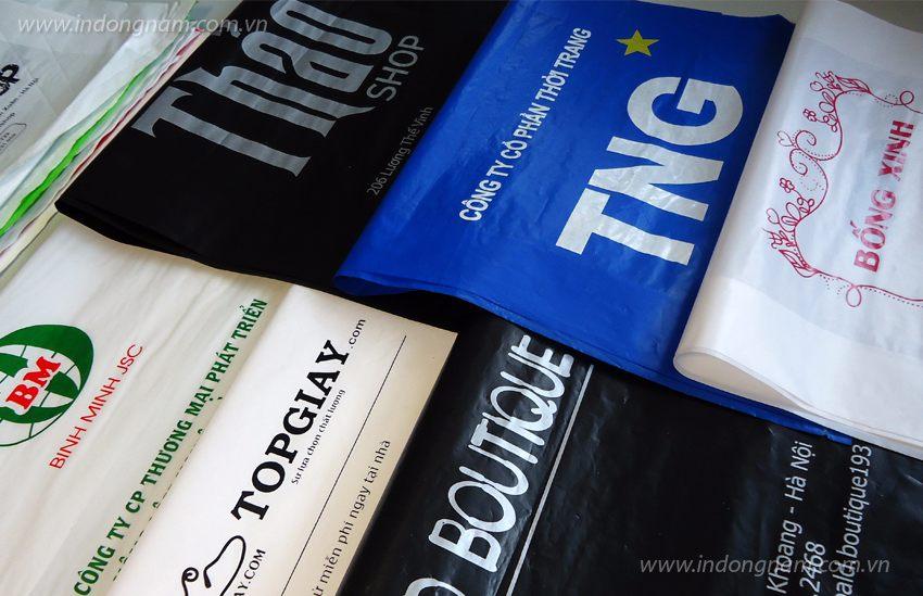 In túi nilon cho shop thời trang tại Hà Nội và các tỉnh thành