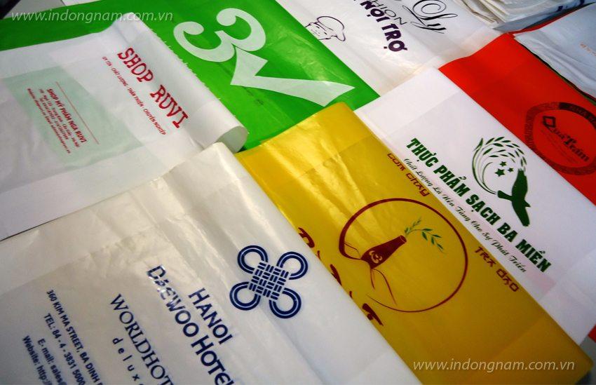 In túi nilon cho nhà hàng, khách sạn tại Hà Nội và các tỉnh miền bắc, miền trung