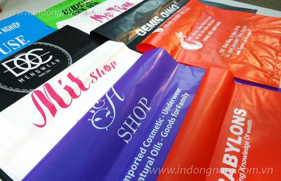 in túi nilon giá rẻ cho shop tại Hà Nội