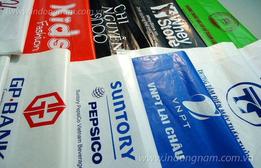 in túi nilon PE giá rẻ cho shop và công ty