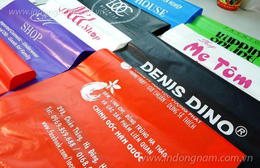 in túi ni lông giá rẻ cho shop và công ty