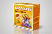 Thiết kế bao bì vỏ hộp Boga Baby Nhật Linh