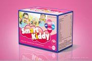 Thiết kế vỏ hộp cốm trẻ em Smart kiddy