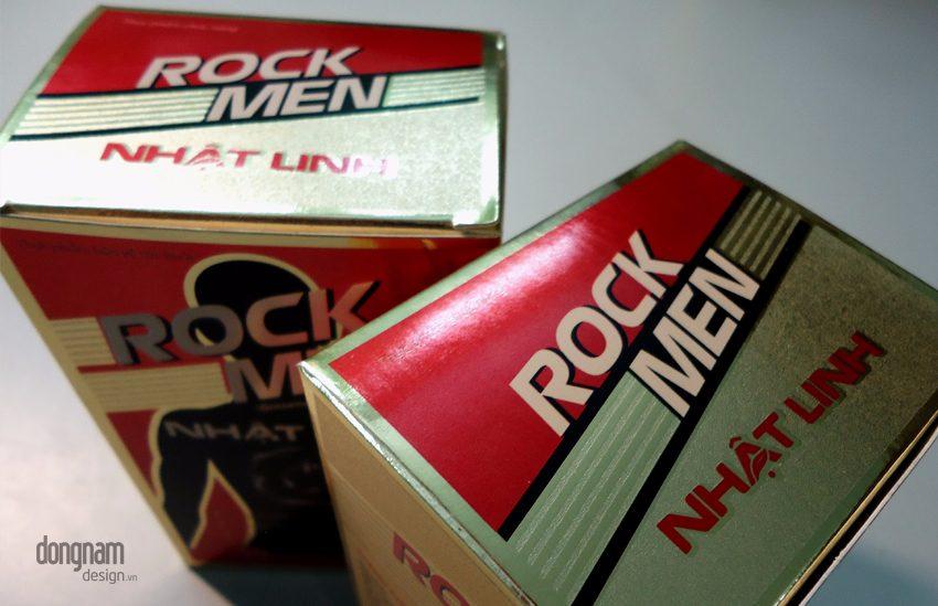 thiết ké bao bì vỏ hộp thực phẩm chức năng Rock Men