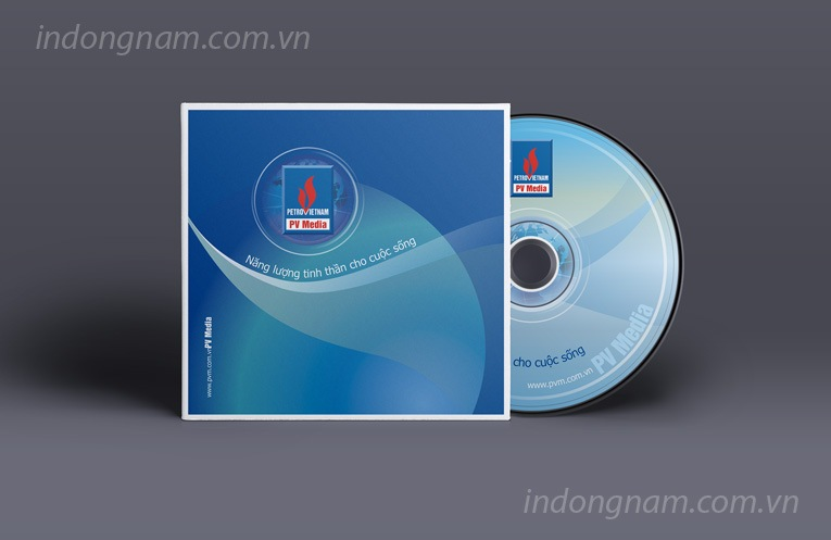 thiết kế nhãn mác bìa đĩa cd