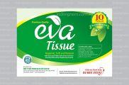 Thiết kế nhãn mác bao bì giấy vệ sinh EVA