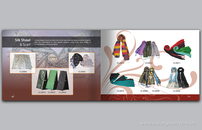 thiết kế catalogue giới thiệu sản phẩm nghệ thuật, thủ công mỹ nghệ