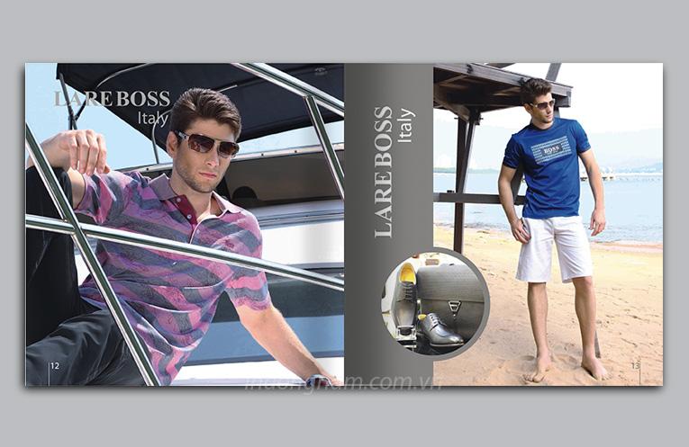 thiết kế catalogue giới thiệu bộ sưu tập thời trang