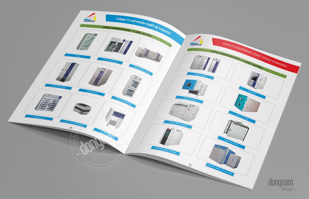 thiết kế profile thiết bị y tế, phòng thí nghiệm
