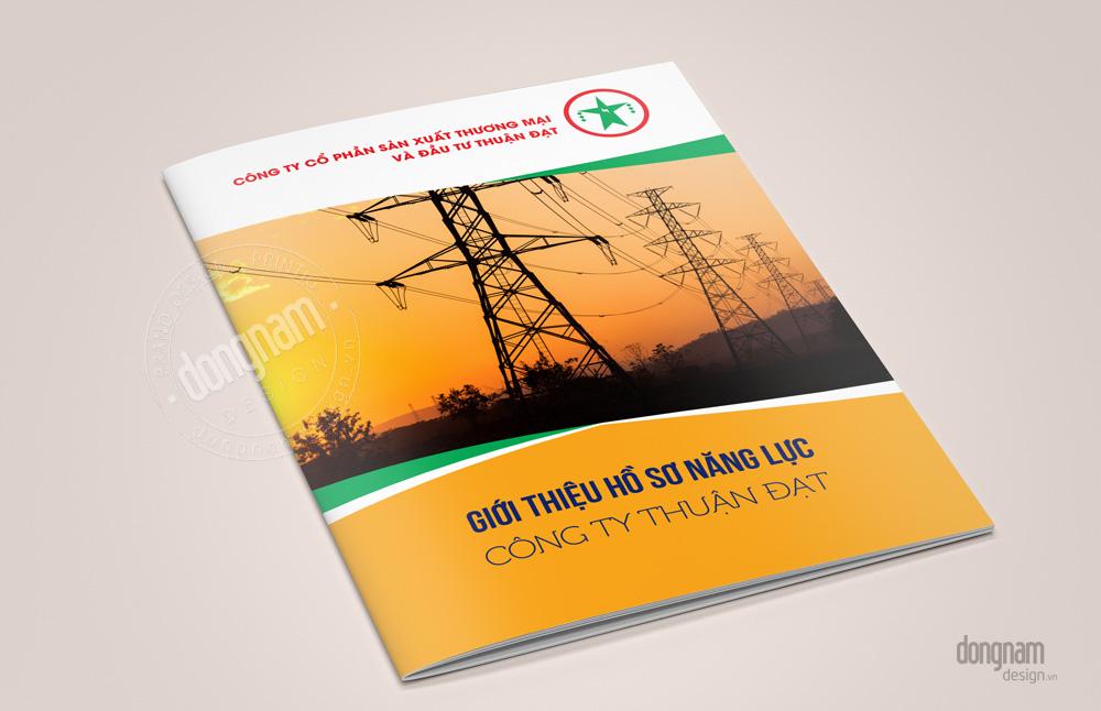 Thiết kế catalogue lĩnh vực công nghiệp điện