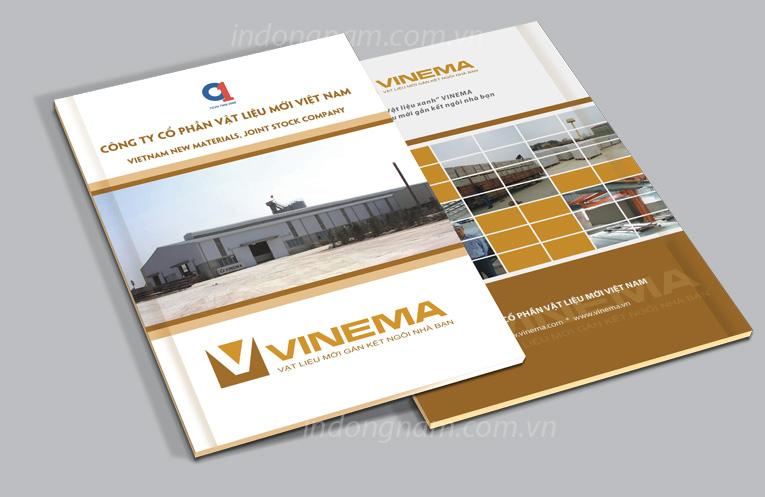 thiết kế hồ sơ năng lực công ty vinema