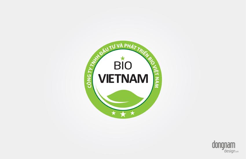 thiết kế logo công ty Bio