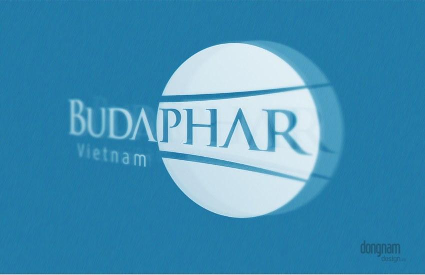 thiết kế logo công ty dược phẩm budaphar