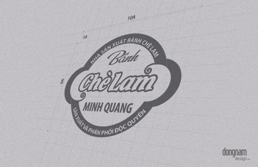 Thiết kế logo thương hiệu bánh chè lam