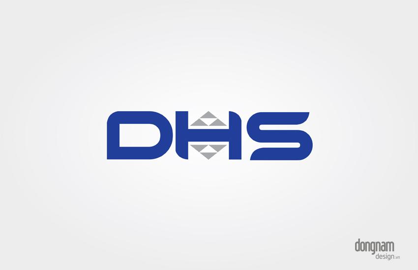 thiết kế logo công ty khai thác khoán sản DHS