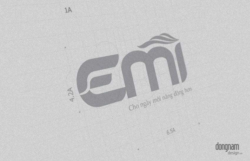 thiết kế logo thương hiệu thẩm mỹ viện emi spa