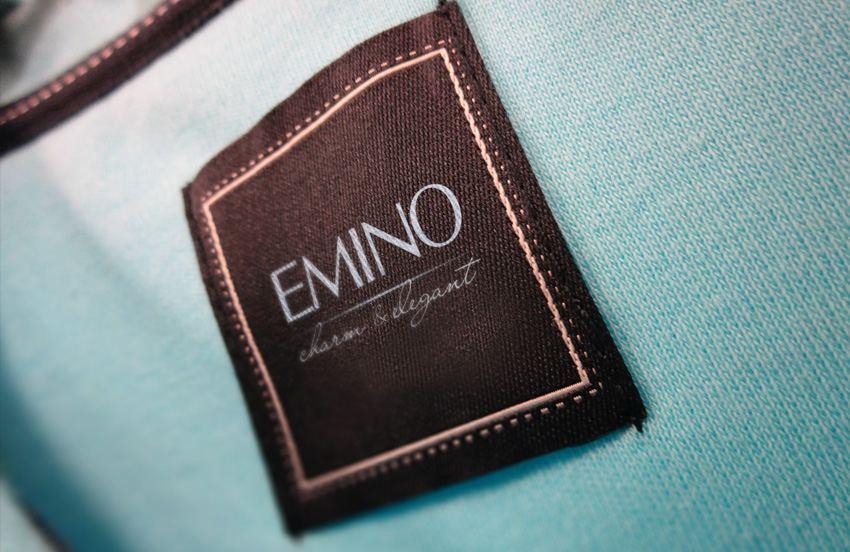 thiết kế logo thương hiệu thời trang emino