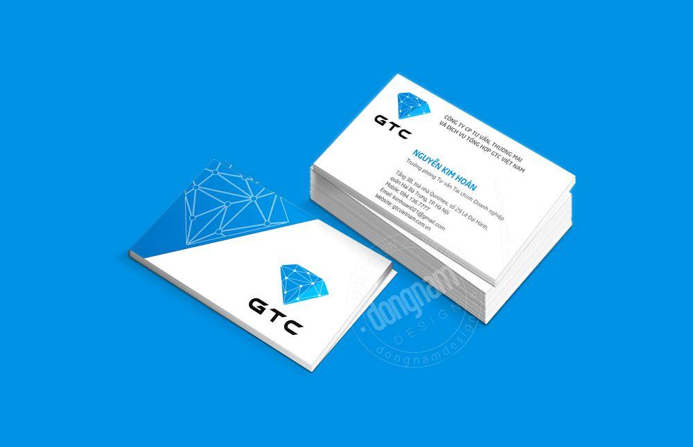 thiết kế logo và bộ nhận diện thương hiệu công ty GTC