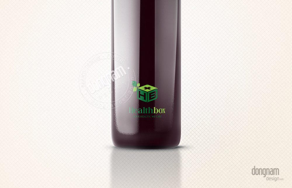 thiết kế logo nhãn hiệu công ty Health Box