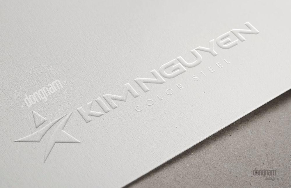 thiết kế logo, làm mới logo công ty Kim Nguyên
