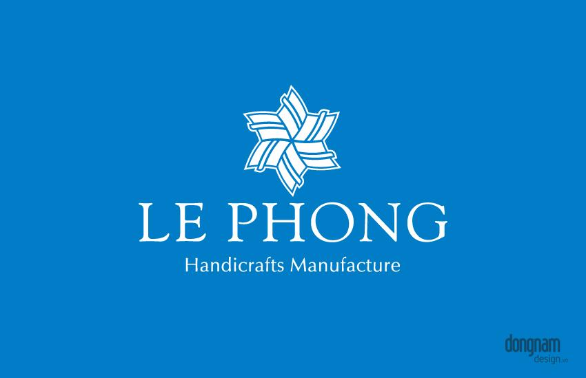 thiết kế logo công ty thủ công mỹ nghệ lê phong
