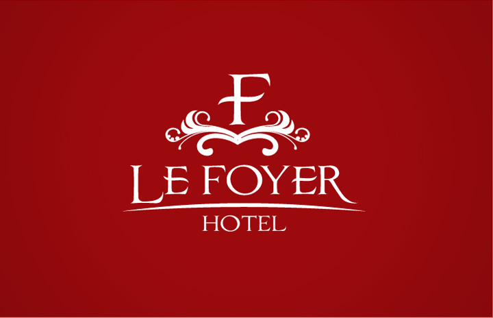 mẫu thiết kế logo khách sạn Le Foyer