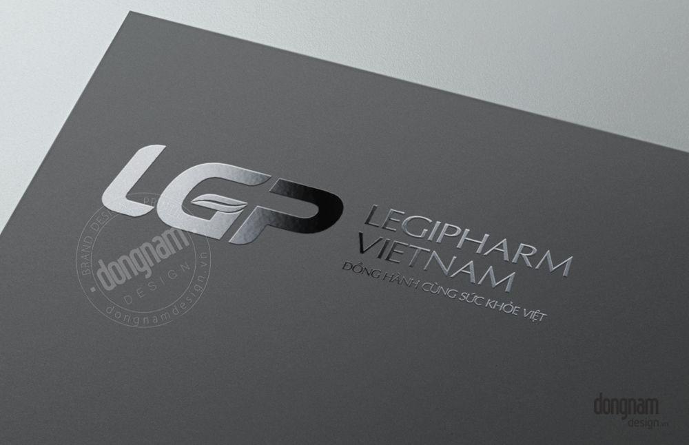 thiết kế bộ nhận diện thương hiệu công ty dược phẩm Legipharm
