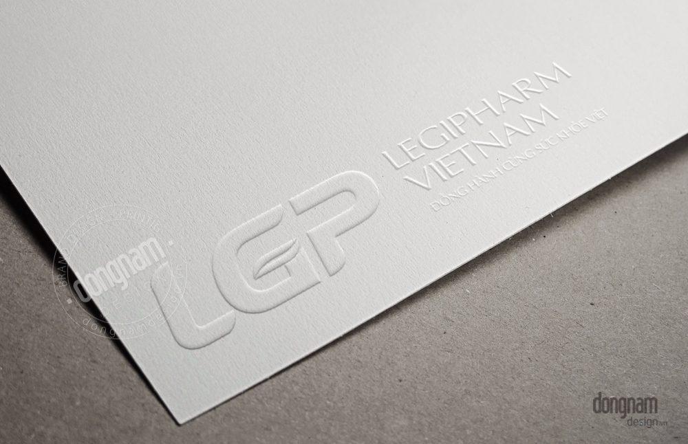 thiết kế logo công ty dược phẩm Legipharm