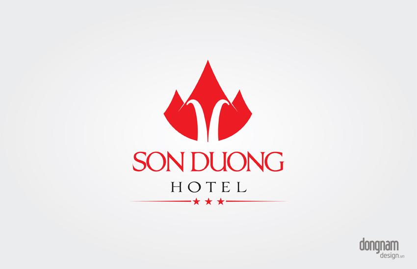 thiết kế logo khách sạn Sơn Dương