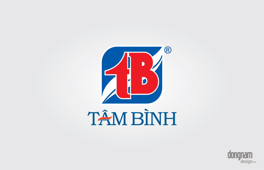 thiết kế logo công ty Tâm Bình