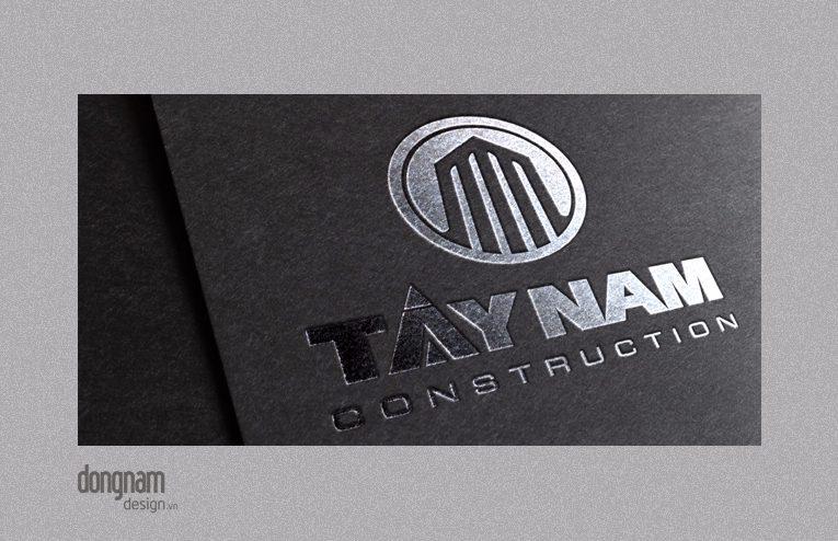 thiết kế logo công ty xây dựng Tây Nam