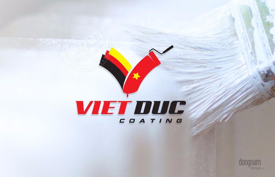 Thiết kế logo công ty sơn công nghiệp
