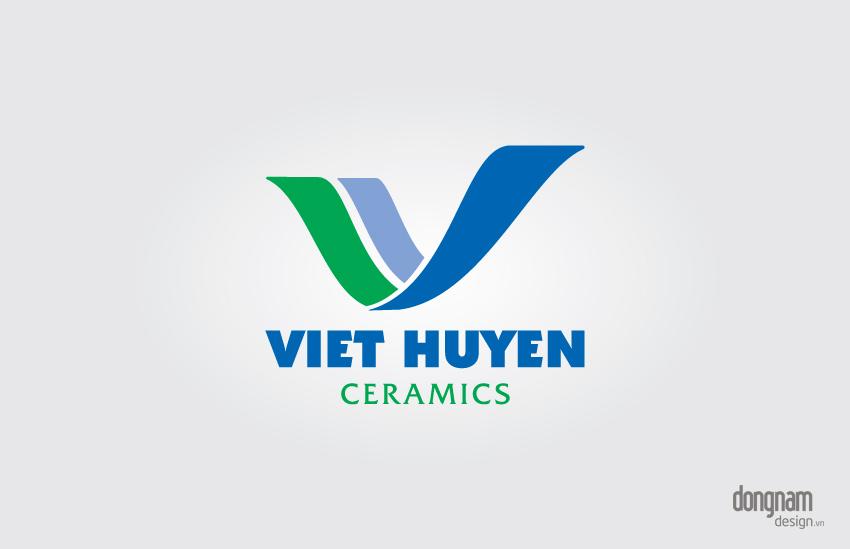 thiết kế logo bộ nhận diện thương hiệu công ty Việt Huyền