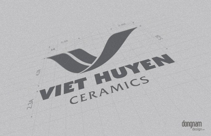 thiết kế logo công ty Việt Huyền