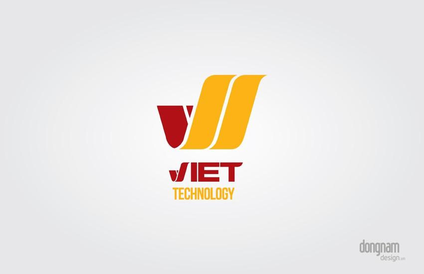 thiết kế logo công ty Viettech
