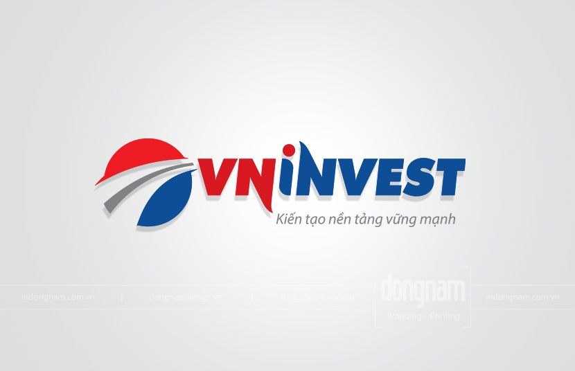 thiết kế logo công ty VN invest