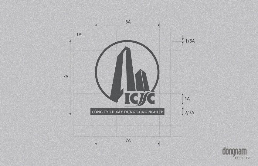 thiết kế logo công ty xây dựng công nghiệp