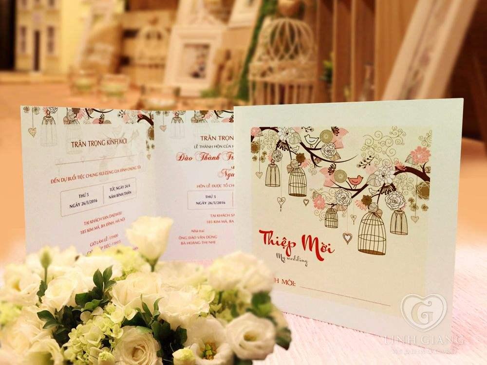 in thiệp cưới, thiết kế thiệp cưới theo yêu cầu