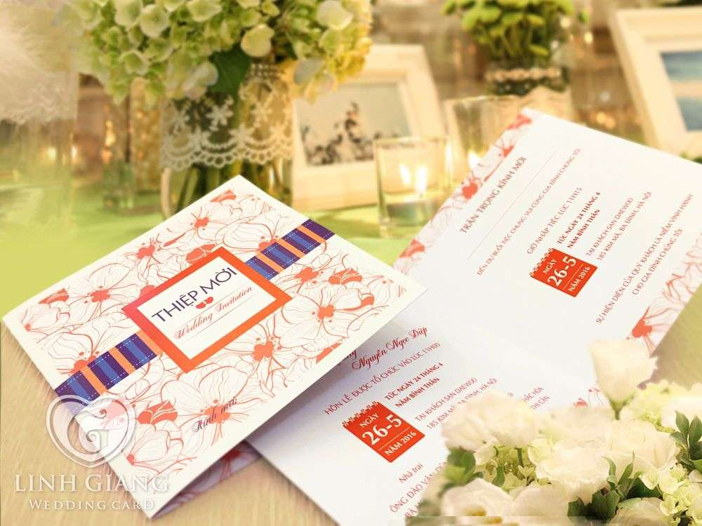 thiết kế thiệp cưới, in thiệp cưới tại hà nội