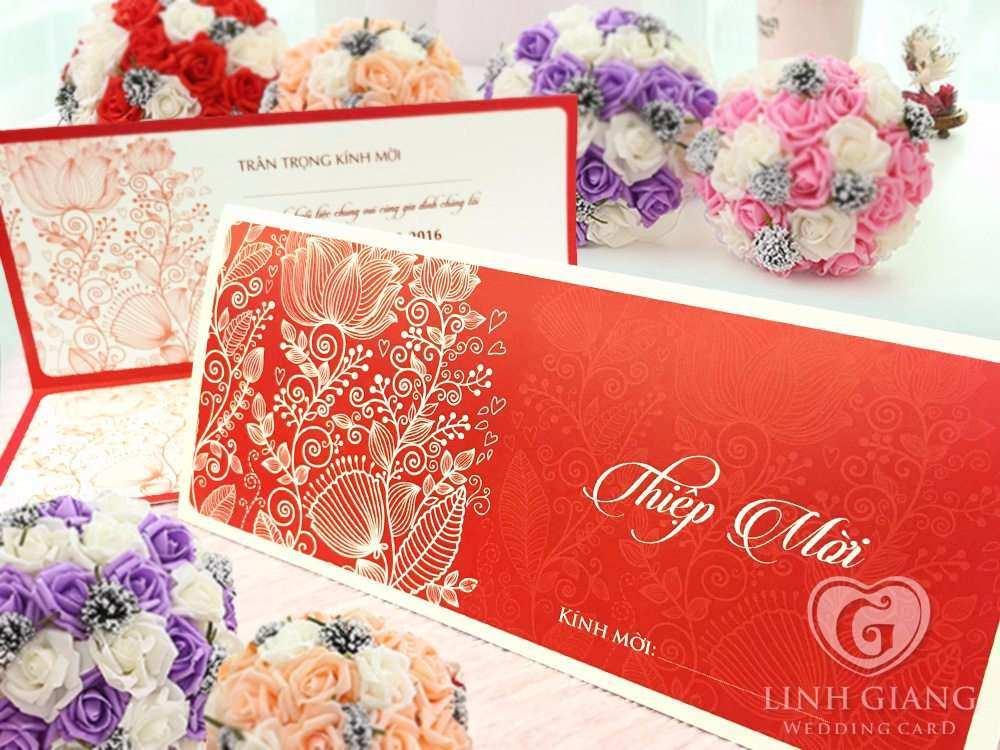 thiết kế thiệp cưới theo yêu cầu, in thiệp cưới