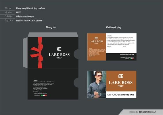 Thiết kế Phong bao và phiếu quà tặng